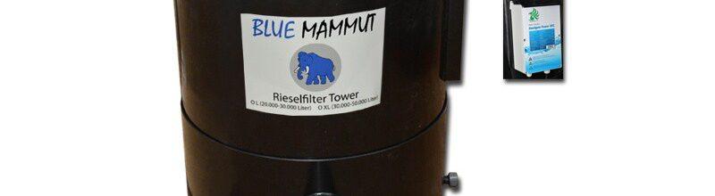 Rieselfilter Blue Mammut