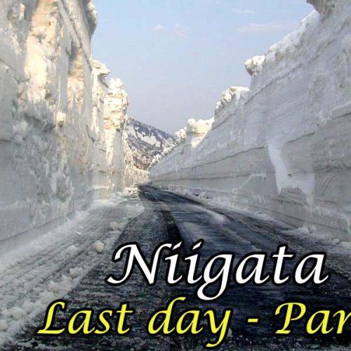 Niigata – Last day