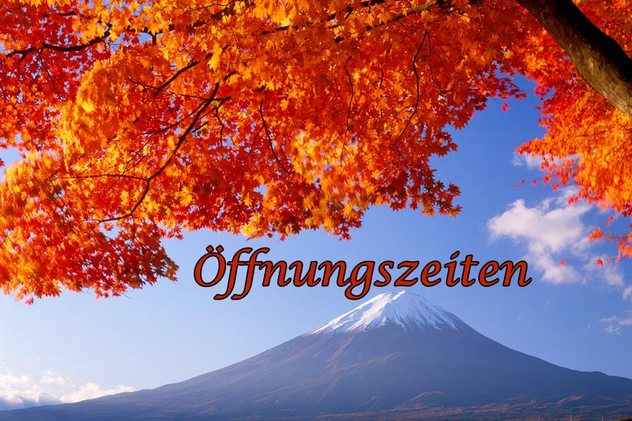 Öffungszeiten-Herbst